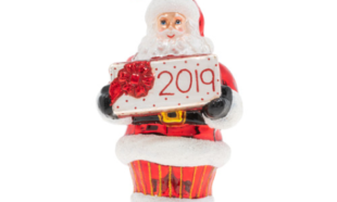 2019 Dated for Delivery Ornament