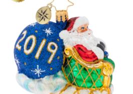 2019 No Looking Back Gem Ornament