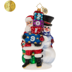 2019 Winter Friends Ornament
