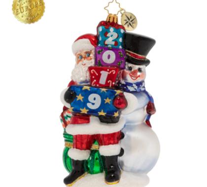 2019 Winter Friends Ornament