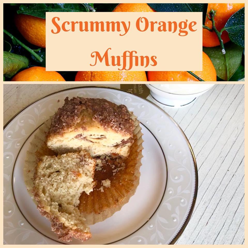 Scrummy Orange Muffins