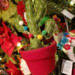 Felt Cactus Ornament