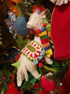 Llama Ornament by RAZ