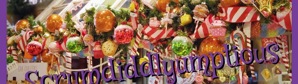 Scrumdiddlyumptious Wonka Garland Christmas Decoration