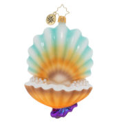 Collecting Pearls Ornament
