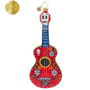 Dia De Los Muertos Guitar Ornament