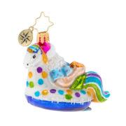 Floating Through The Holidays Gem Ornament