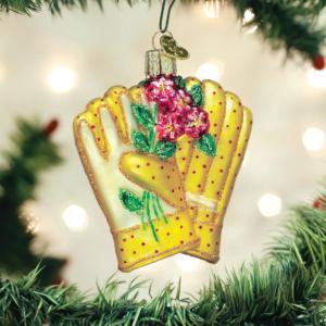 Gardening Gloves Ornament
