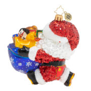Hurry Santa! It's Baby's First Christmas! Ornament