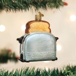 Retro Toaster Ornament