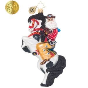 Rodeo Showman Ornament